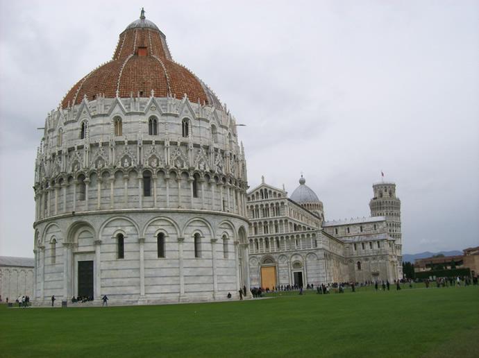 Das Baptisterium in Pisa