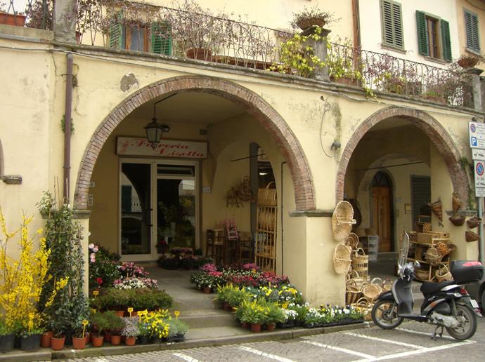 so stellen wir uns die Toskana vor