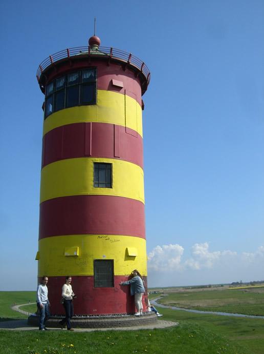 Zu Gast in Pilsum bei Ottos Leuchtturm
