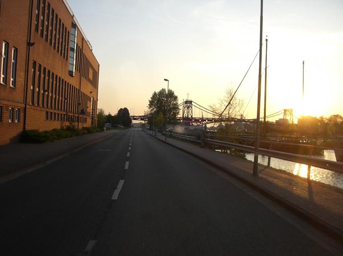 Abendsonne in Wilhelmshaven