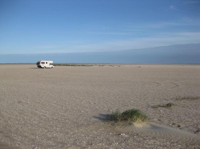 Wie in der Wüste: Auch hier ohne Aussicht auf Rettung