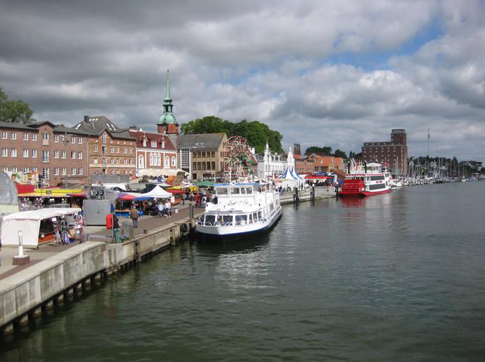 Hafenfest in Kappeln im Mai 2009