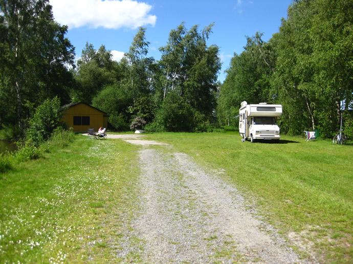 Camping am Feriencentrum Heidenau