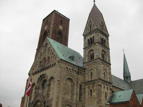 Kirchtürme der Kirche von Ribe