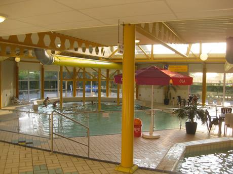 Das Schwimmbad des Campüingplatz Westhove