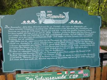 Geschichte über den Mummelsee