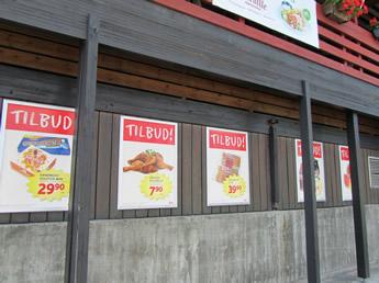 Die Angebote des Tages, Einkaufen in Norwegen