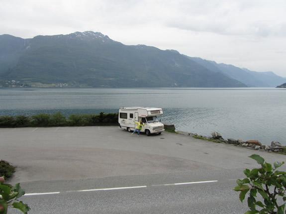 Mit dem Wohnmobil am Hardangerfjord unterwegs