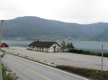 Rastplatz Kro am Hardangerfjord