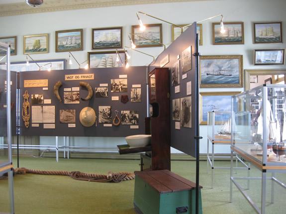 Seefahrergeschichte in Nordby Fanö- Museum