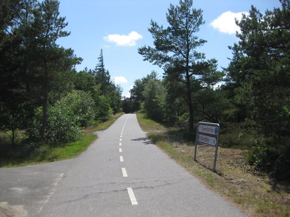 Noch 7 Kilometer bis Sonderho