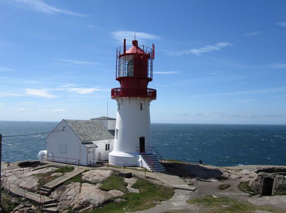 Leuchtturm am Südkap Norwegens