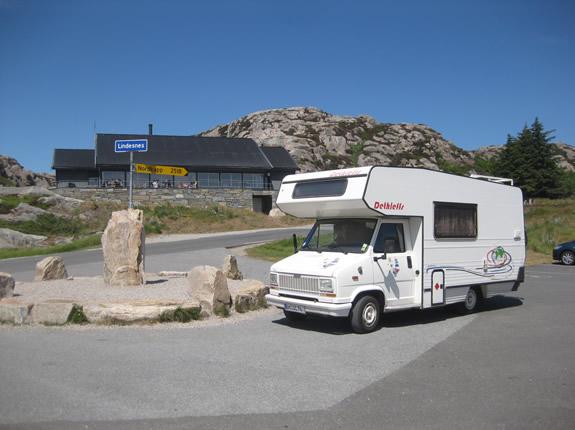 Mit dem Wohnmobil zum Nordkap?