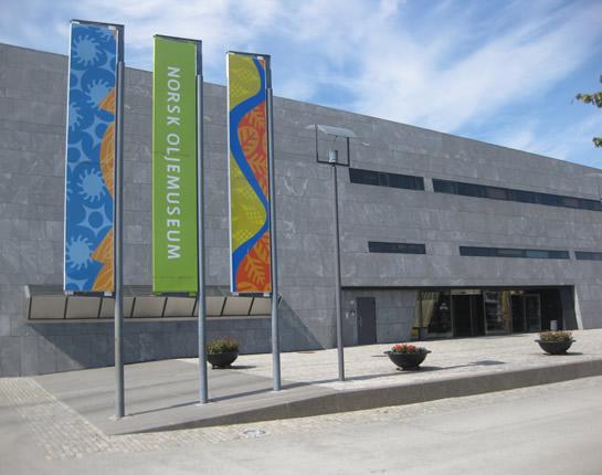 Das norwegische Ölmuseum in Stavanger