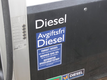 steuerfreier Diesel in Norwegen