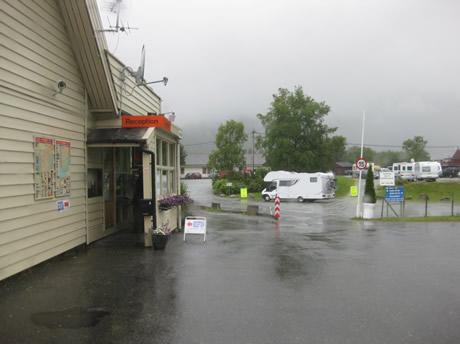 Check- In am Lone Campingplatz