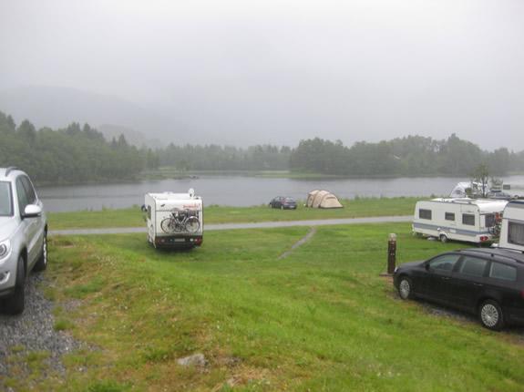 Campingplatz am See beim Lone Camping