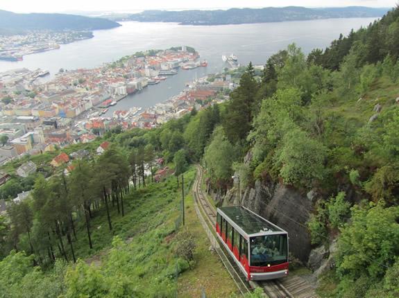 Die Floibahn erklimmt den Floiberg