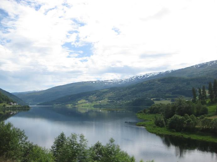 Norwegens Schönheiten am Wegesrand