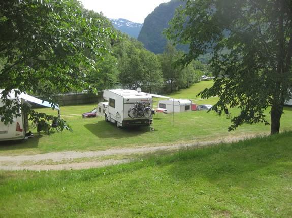 Campingbild auf dem Flam Campingplatz