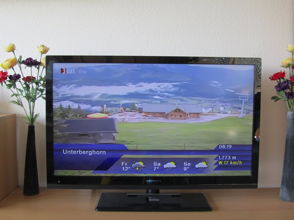 Das Unterberghorn live bei den Panoramabildern im TV