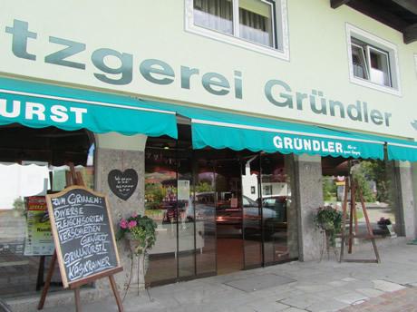 Metzgerei Gründler in Kössen