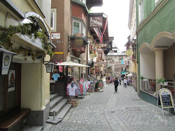 Römerhofgasse in Kufstein in Tirol