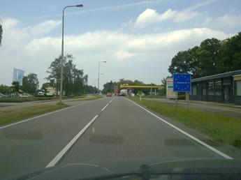 Fahrt nach Holland