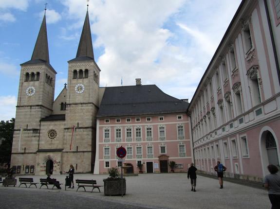 königliches bayerisches Schloss in Berchtesgaden