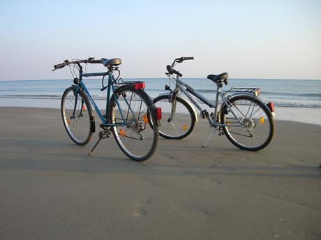 Mit dem Fahrrad im Campingurlaub