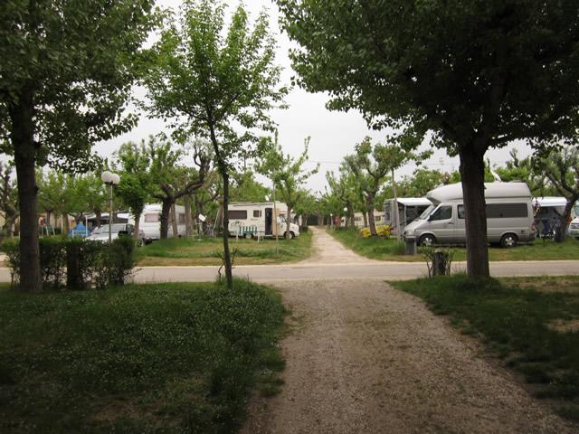 Der letzte Abend auf Camping Riccione mit dem Wohnmobil