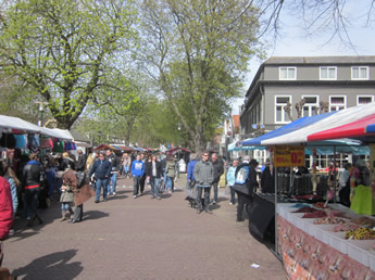 Markt in Burgh-Haamstede