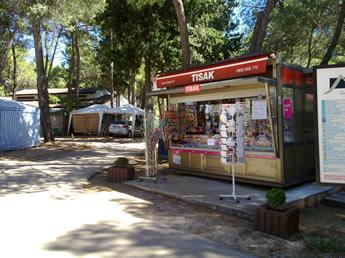 Kiosk-Kroatien