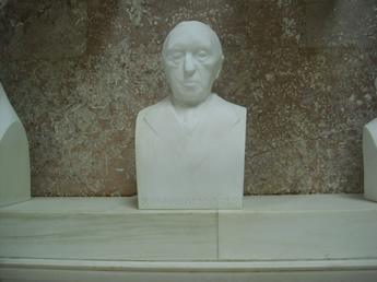 Konrad Adenauer in der Walhalla