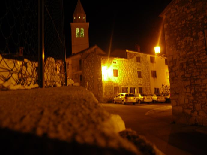 Kirche in der Altstadt von Funtana