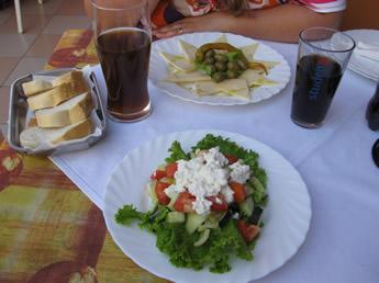mediterrane Küche in Kroatien