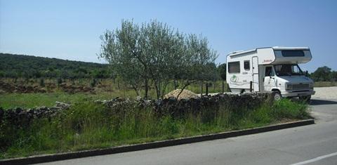 Mit dem Wohnmobil nach Kroatien - vielleicht das Titelbild???