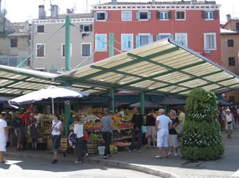 Marktstände in Kroatien