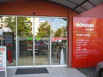 Konzum-Supermarkt