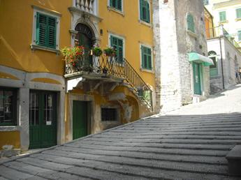 anstrengende Wege in der Altstadt