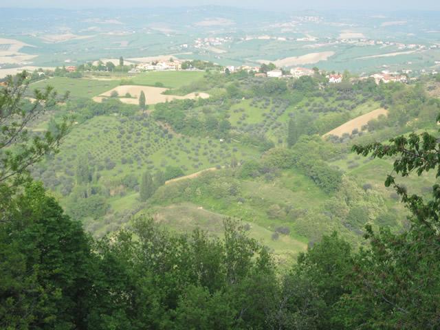 Eindrücke wie in der Toskana. Traumhaft schön!