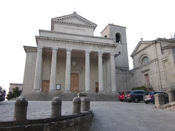 römischer Tempel oder Kirche in San Marino