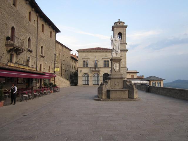 offener Platz in San Marino