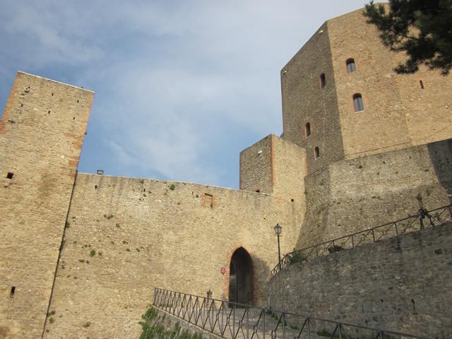 Festung in Montefiore Conca