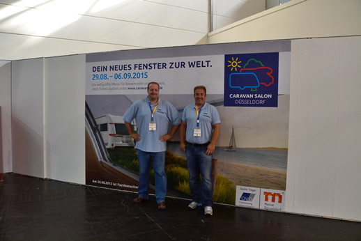 Team Transitfrei auf dem CARAVAN SALON
