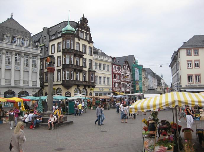 Das Marktkreuz von Trier