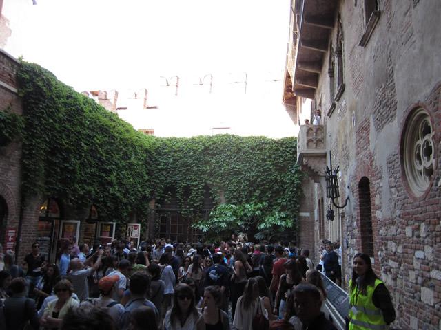 Der Innenhof der Villa Cappello No 23