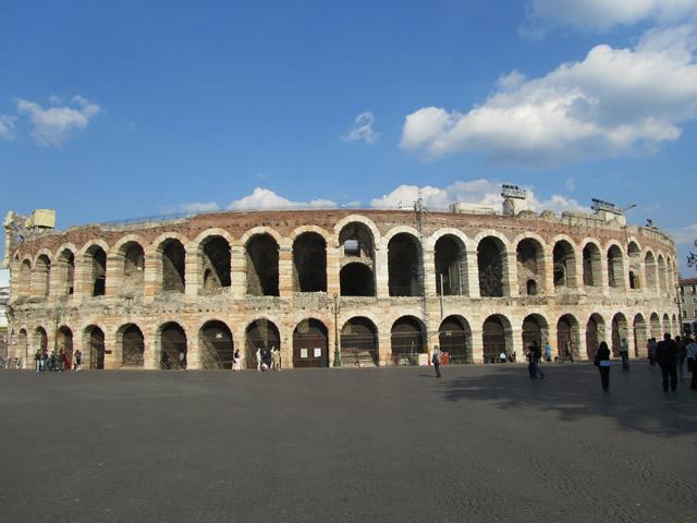 Die römische Arena von Verona