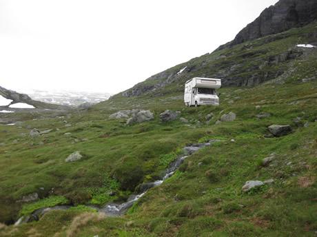 Mit dem Wohnmobil in Norwegen unterwegs