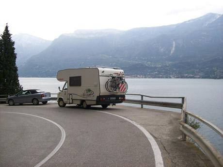 Mit dem Wohnmobil am Gardasee